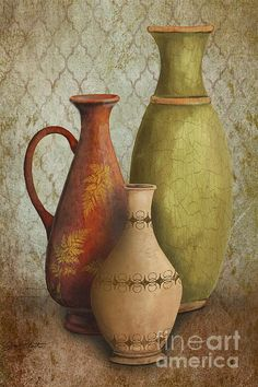 Still Life-E Painting / Jean Plout