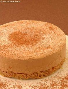 Coffee Mousse Pie ( Eggless Desserts Recipe)