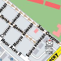 Karta Na Sofiya S Ulici Adresi Marshrut Map Sofia