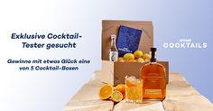 Gewinne mit etwas Glück eine von 5 exklusiven Cocktail-Boxen - https://home-cocktails.springup.io/?view=social&type=test&id=430