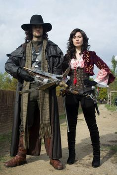 Van Helsing & Anna Valerious at Lucca Comics 2012