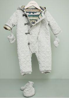 Bonnie Baby Garbo and Friends meets Bonnie Baby Snowsuit 'IGGY'