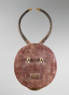 MASK Baule Ivory Coast. H 112 cm. Provenance: Swiss private collection.