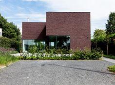 Areal Architecten - architect Chris Eeraerts - doorzonwoning met noordtuin