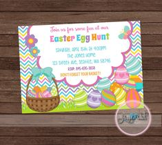 Hey, I found this really awesome Etsy listing at https://www.etsy.com/listing/514256557/easter-egg-hunt-invitation-easter-party
