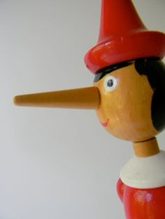Vintage Wood Pinocchio 16 inch high