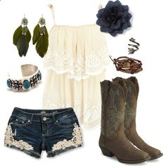 Little Bit of Everything ~~country fashion~~.....they even have my boots my honey bought me!!