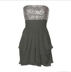 Sparkle and Forest Green Party Dress