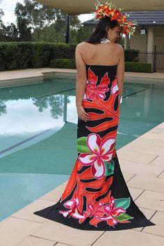 Gorgeous!  Hawaiian dress
