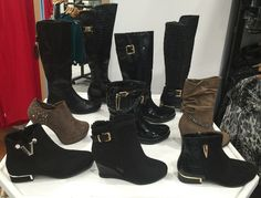 Boots at @deeor Flip Flops, Wedges, Sandals, Lady, Boots, Fashion, Crotch Boots, Moda, Shoes Sandals