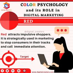 Colours play a significant role in marketing. Red colour is very well known for evoking the passion, energy and to grab attention. It is a warm colour. Brands like Coca Cola use the colour red to seek more customers. Do you know more brands using RED colour??? #digitalmarketing #red #redcolor #strategy #contentmarketing #socialmediamarketing #digitalcreaters #targets #searchengineoptimization #SEM #marketing #webdesign #webdevelopment #onlinemarketing #socialmedia Best Marketing Companies, Best Digital Marketing Company, Digital Marketing Services, Content Marketing, Online Marketing, Social Media Marketing, Best Web Development Company, Marketing Poster, Seo Agency