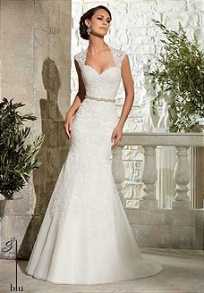 Bridal Gowns Blu by Mori Lee 5303 Bridal Gown Image 1