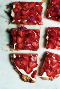 Super Simple Strawberry Tart