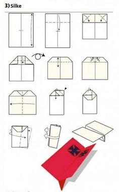 How To Build The World's Best Paper Airplanes Origami Plane, Paper Airplane Steps, Crafts To Do When Your Bored, Paper Aircraft, Crafts For 3 Year Olds, Diy Papier, Origami Tutorial, Arts And Crafts Supplies, Cub Scouts