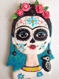 Galleta Frida. Día de muertos
