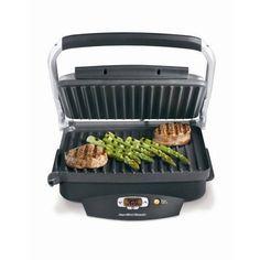 Nonstick Indoor Searing Grill 100-Square-Inch Small Kitchen Appliances Home  #HamiltonBeach