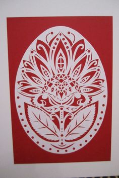Витинанка - Каталог рукоделия #86488 Paper Swan, Student Picture, Paper Art, Paper Crafts, Egg Art, Cool Patterns, Cricut Design, Paper Cutting, Deco