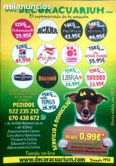 . Decoracuarium �El Supermercado de Tu Mascota�, ahora tambi�n es www.decoracuarium.com con Tienda Online y servicio a domicilio en todas las Islas Canarias. Trabajamos Alimentos, Accesorios, Mascotas y contamos con servicio de Consultorio Veterinario...