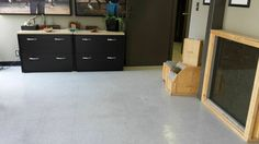 Clean offices and floors!