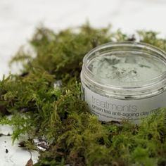 Green Tea Face Mask.  Use 1-3 times a week to leave you skin firm, moisturised and more radiant.