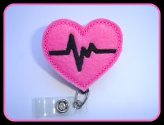 Retractable badge holder  nurse badge holder by clippiecollections, $6.50