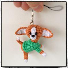 Купить Собака вязаная Чихуа - амигуруми, вязаная игрушка, собака, чихуахуа, чихуа, миниатюра