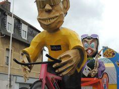 Le carnaval de Granville : toujours en phase avec l'actualité !