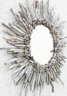 Plus de 1000 id es propos de bois flotte sur pinterest for Miroir en bois flotte