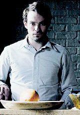 Matt Murdock. That grin.   Matt Murdock.  I can't.