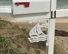 Sailboat Corner/Mailbox Bracket - Medium. Long Lasting & Fabulous!