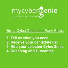 Hire a reliable partner for your business in 4 Easy Steps!