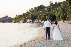 Vows Renewal Ceremony on the Beach in Halkidiki Greece! Halkidiki Greece, Wedding Planner, Destination Wedding, Vow Renewal Ceremony, Unique Weddings, Vows, How To Plan, Beach, The Beach