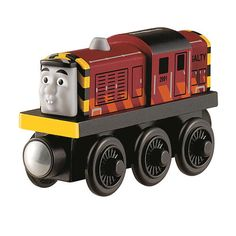 "Thomas & Friends Wooden Railway - Salty Engine - Fisher-Price - Toys ""R"" Us"