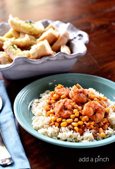 This heirloom family recipe for Shrimp and Corn Stew is packed full of the delicious flavors of New Orleans in every bite! // addapinch.com
