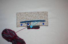 Universaltäschchen - * Nadelspieltasche * Nadelhalter * Stricknadeletui - ein Designerstück von Kaepseles bei DaWanda