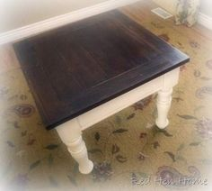 Redoing Goodwill Coffee Table Black Loving Paint From Behr Shock Called