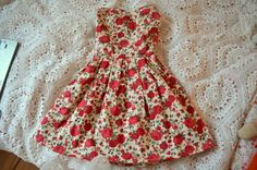 rose sweetheart dress