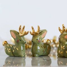 Brighten Your Day with Gold Giraffes and Other Wee Beasts
