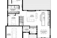 Our modern house plan is sold directly online and is already . - House Plans, Home Plan Designs, Floor Plans and Blueprints Cottage Style House Plans, Bungalow House Plans, New House Plans, Modern House Plans, Small House Plans, Cottage Homes, Southern House Plans, Modern Farmhouse Plans, Ranch House Plans