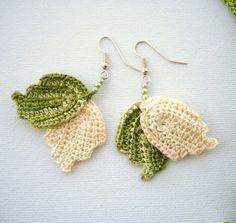 crochet earrings by CraftsbySigita
