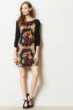 6404a8f4e88b Anthropologie Black Maeve Epona Tunic Small Short Casual Dress Size 6 (S).  Free. Tradesy