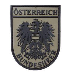 Österreichabzeichen Bundesheer PVC Luftwaffe, Bell 212, Morale Patch, Porsche Logo, Air Force, Patches, Military, Badges, Army