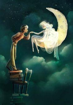 Photo: ♥••*´¨`*•.☆• Buenas Noches mis queridos amig@s de esta hermosísima comunidad.... Que tengas lindos sueños con un confortable descanso abrazo con cariño!!!!