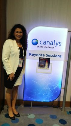 Erika Grande, Territory Marketing Manager Latin America de Vision Solutions presente en Canalys Channel Forum LATAM 2015  #CanalysForum #Canalys #GMIT #LiveCoverage #Colombia #Cartagena #Latam #VisionSolutions