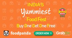 #Foodpanda BOGO Offer – Buy 1 Get 1 Free On Food!