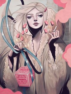 Portrait Illustrations by Kelsey Beckett » Design You Trust. Design, Culture & Society.