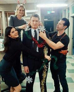 Justice cast celebrate Christmas