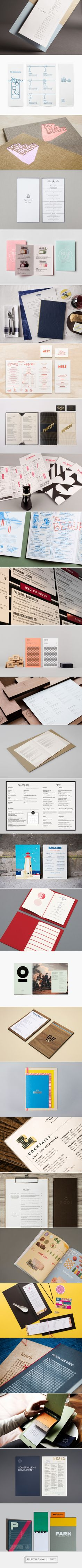 The Best Menu Designs, Inspiration & Gallery