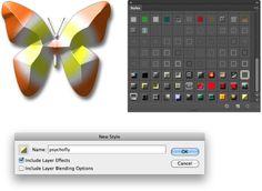 Saving layer styles CS6