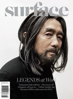 Tucking into our May/June 2012  issue of Surface magazine featuring Yohji Yamamoto